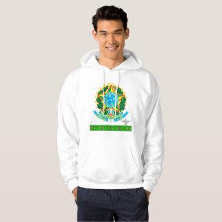 Brazil coat of arms hoodie