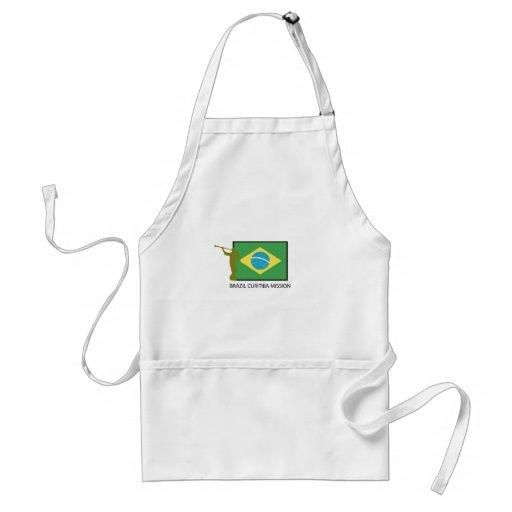 BRAZIL CURITIBA MISSION LDS APRONS