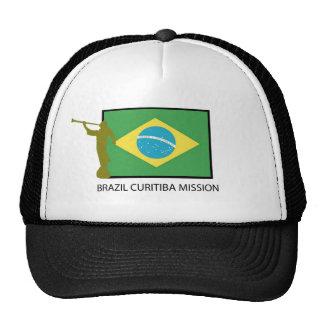 BRAZIL CURITIBA MISSION LDS HATS