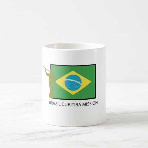 BRAZIL CURITIBA MISSION LDS COFFEE MUGS