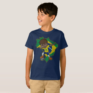 Brazil Dabbing Soccer  Association football Dab T-Shirt