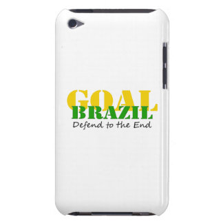 Brazil - Defend to the End iPod Touch Cover