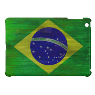 Brazil distressed Brazilian flag Case For The iPad Mini