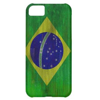 Brazil distressed Brazilian flag iPhone 5C Case