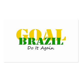 Brazil - Do It Again Pack Of Standard Business Cards