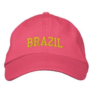 Brazil Female  Custom Hat Embroidered Baseball Caps