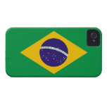 Brazil Flag Barely There™ iPhone 4 Case