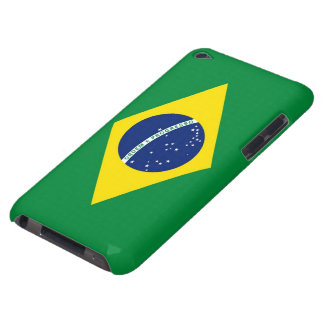 Brazil Flag Barely There iPod Cases