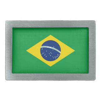 Brazil Flag Belt Buckle