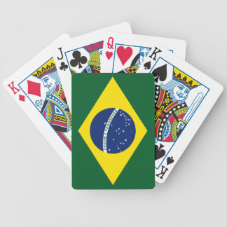 Brazil flag bicycle playing cards