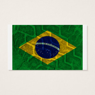 Brazil Flag Business Card