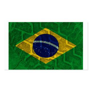 Brazil Flag Business Card Template