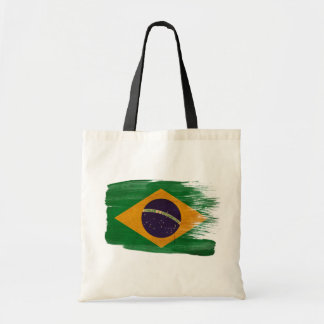 Brazil Flag Canvas Bags