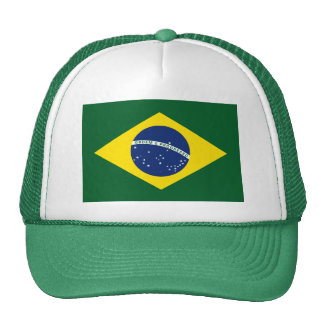 Brazil flag cap