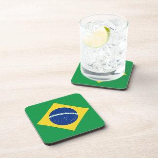 Brazil Flag Coaster