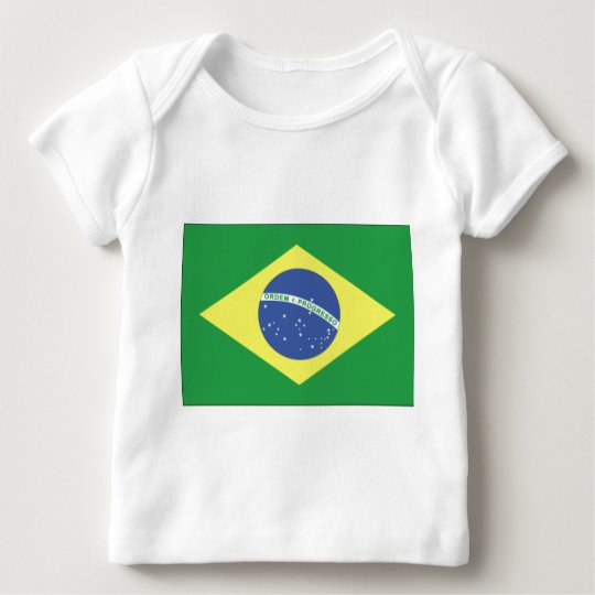 Brazil Flag Design Baby T-Shirt