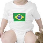Brazil Flag Design Tee Shirts
