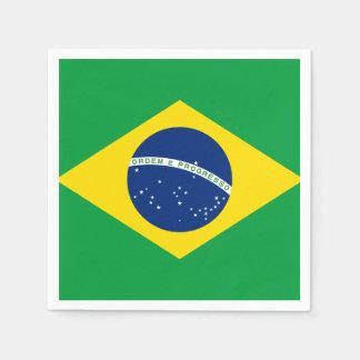 Brazil Flag Disposable Napkin