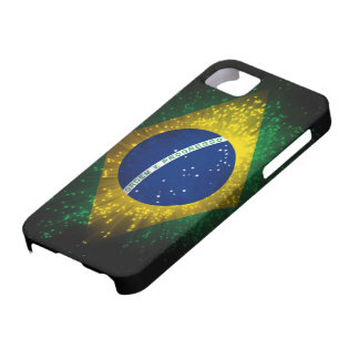 Brazil Flag Firework iPhone 5 Covers