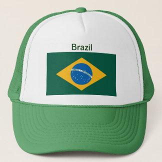 Brazil Flag Hat