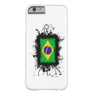 Brazil Flag iPhone 6 case Barely There iPhone 6 Case