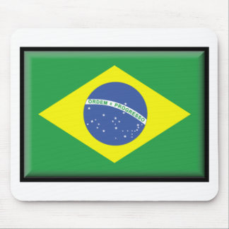 Brazil Flag Mouse Mat