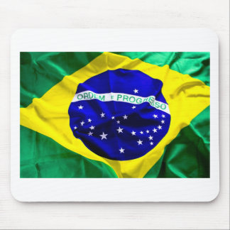 brazil-flag mouse pads