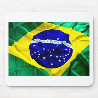 brazil-flag mouse pads
