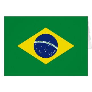 Brazil Flag Note Card