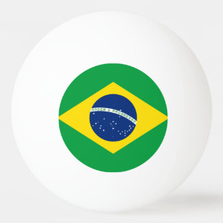 Brazil Flag Ping Pong Ball