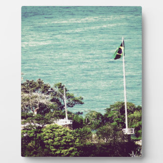 Brazil Flag Plaques