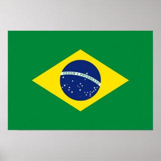 Brazil Flag Print