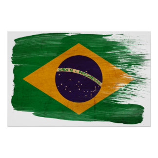 Brazil Flag Posters