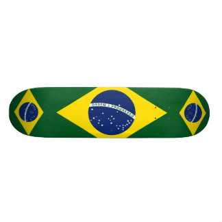 Brazil flag skateboard decks
