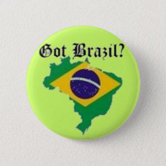 BRAZIL FLAG  T-SHIRT AND ETC 6 CM ROUND BADGE