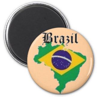 BRAZIL FLAG  T-SHIRT AND ETC MAGNET