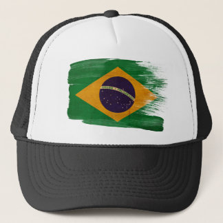 Brazil Flag Trucker Hat