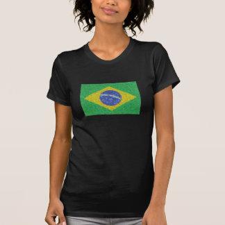Brazil flag Van Gogh style T-Shirt