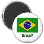 Brazil Flag with Name