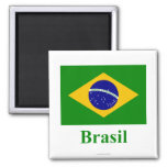 Brazil Flag with Name in Portuguese