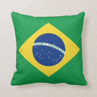 Brazil Flag x Flag Pillow