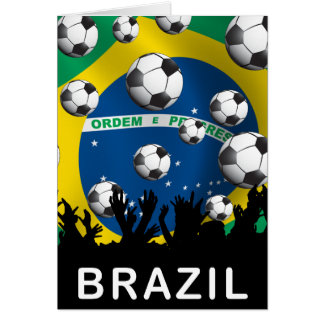 Brazil Football Card