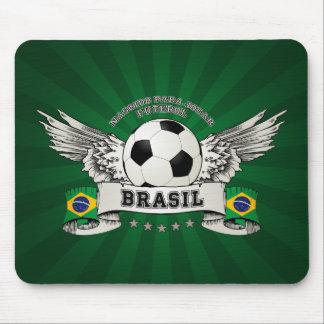 Brazil Football National Team Supporter mousepad