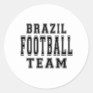 Brazil Football Team Stickers