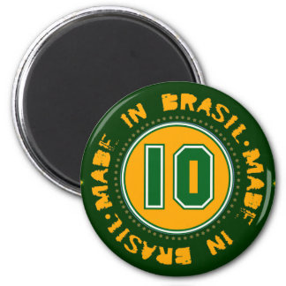 Brazil for the freezer magnet