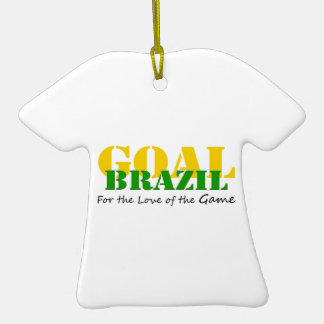 Brazil - For the Love of the Game Ornament