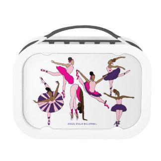 Brazil Fralis Ballerina Lunch Box