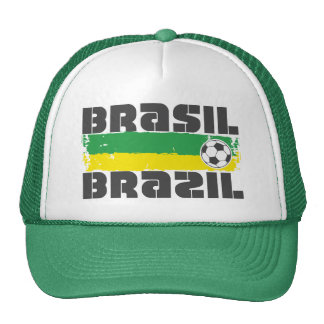 Brazil Futbol Cap