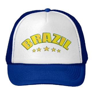 Brazil Futebol fans Brazil Soccer hat