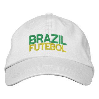BRAZIL FUTEBOL hat Embroidered Hats